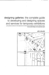 Designing Galleries: complete guide to developing and designing spaces and services for temporary exhibitions
