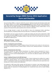 Homes 2016 application form and checklist