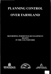 Planning control over farmland: reforming permitted development rights in the countryside