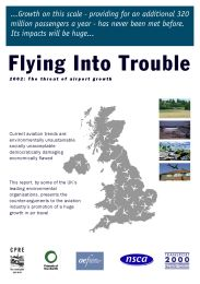 Flying into trouble - 2002: the threat of airport growth