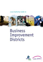 Local authority guide to business improvement districts