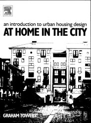 Introduction to urban housing design - at home in the city