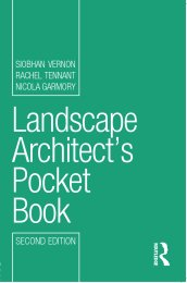 Landscape architect's pocket book. 2nd edition