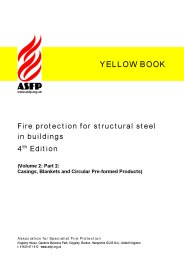 Fire protection for structural steel in buildings (Yellow book). Volume 2: Part 2: Casings, blankets and circular pre-formed products. Section 10:2 Product data sheets. 4th edition (Revised March 2010)