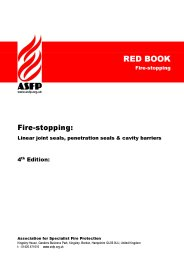 Fire-stopping: Linear joint seals, penetration seals and cavity barriers 4th edition. Red book (Fire-stopping)