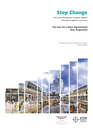 Step change - town centre management strategies, regional development agencies, and Europe: the case for a town improvement zone programme