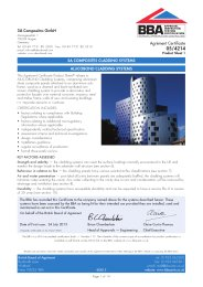 3A Composites GmbH. 3A Composites cladding systems. Alucobond ...