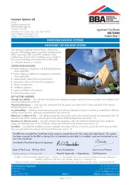 Innovare Systems Ltd. Innovare building systems. Innovare i-SIP building system. Product sheet 1