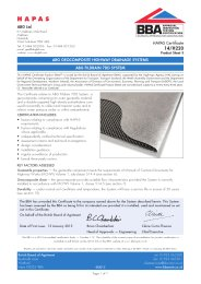 ABG Ltd. ABG geocomposite highway drainage systems. ABG Fildrain 7DD system. Product sheet 3