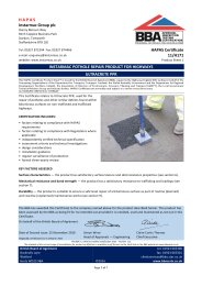 Instarmac Group PLC. Instarmac pothole repair product for highways. Ultracrete PPR. Product sheet 1