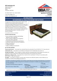 IKO Insulations UK. IKO insulations. IKO enertherm ALU insulation board for flat roofs. Product sheet 3