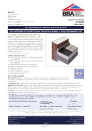 IKO PLC. IKO enertherm EPS inverted roof insulation. IKO enertherm EPS inverted roof boards - high performance. Product sheet 2