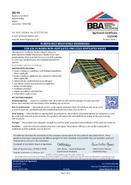 IKO PLC. Rubershield breathable membranes. For use in warm non-ventilated and cold ventilated roofs. Product sheet 1