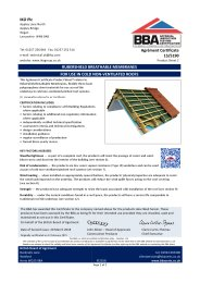 IKO PLC. Rubershield breathable membranes. For use in cold non-ventilated roofs. Product sheet 2