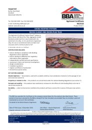 Icopal Ltd. Decra Roofing Systems. Decra Classic and Decra Plus tiles. Product sheet 1