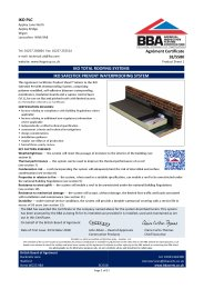 IKO Plc. IKO total roofing systems. IKO Safestick prevent waterproofing system. Product sheet 1