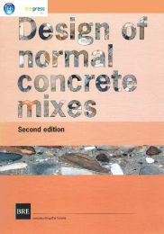 Design of normal concrete mixes. 2nd edition
