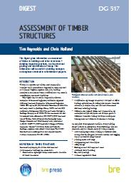 Assessment of timber structures