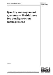 Quality management systems - guidelines for configuration management (Withdrawn)