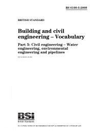 glossary of civil construction terms