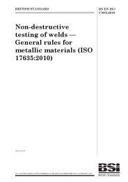 Non-destructive testing of welds - General rules for