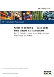 Glass in building - Basic soda lime silicate glass products. Definitions and general physical and mechanical properties