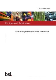 Transition guidance to BS EN ISO 19650