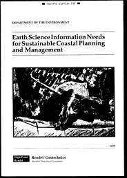 Earth science information needs for sustainable coastal planning and management
