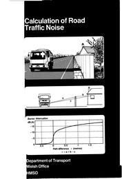 Calculation of road traffic noise - The Construction