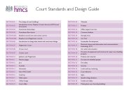 Court standards and design guide (withdrawn)