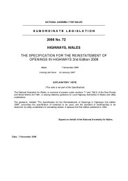 Specification for the reinstatement of openings in highways. 2nd edition
