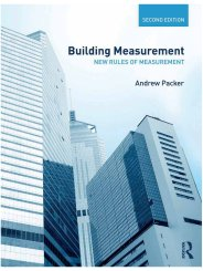 Building measurement - new rules of measurement. 2nd edition