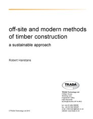 Off-site and modern methods of timber construction: a sustainable approach