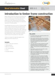 Introduction to timber frame construction
